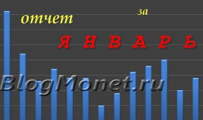 БлогМонет.ру: Отчет за январь