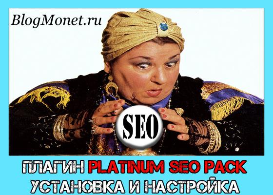 как правильно установить плагин platinum seo