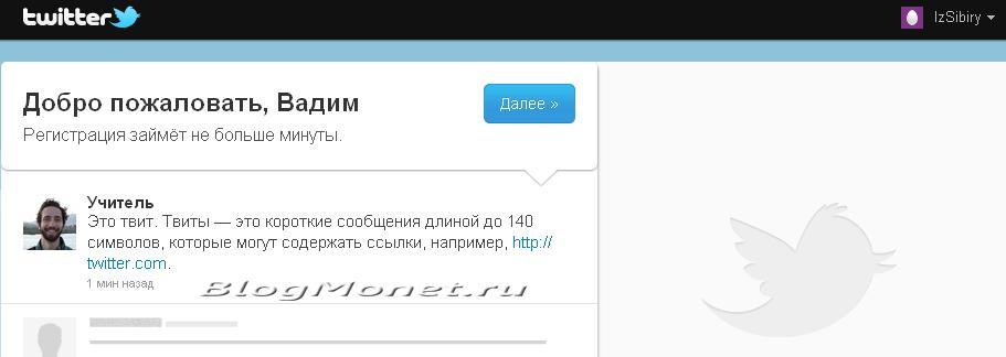 микроблог твиттер 001