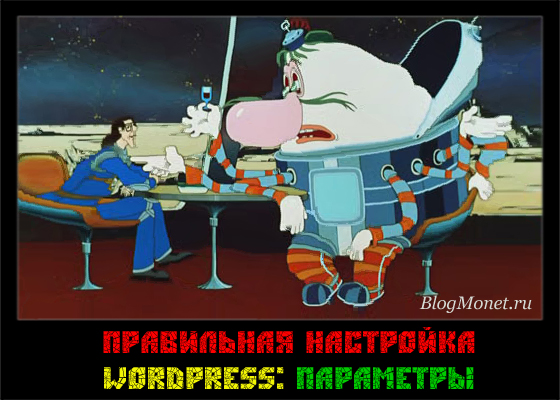 настройка-wordpress_вкладка-параметры