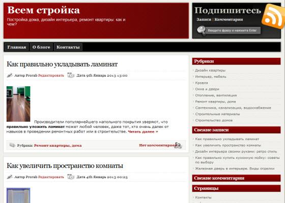 статистика блога_главная страница vsem-stroyka_ru