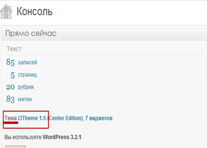 тема wordpress и шаблон не одно и то же